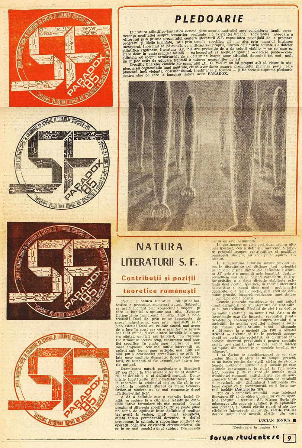 Paradox nr. 10/1985