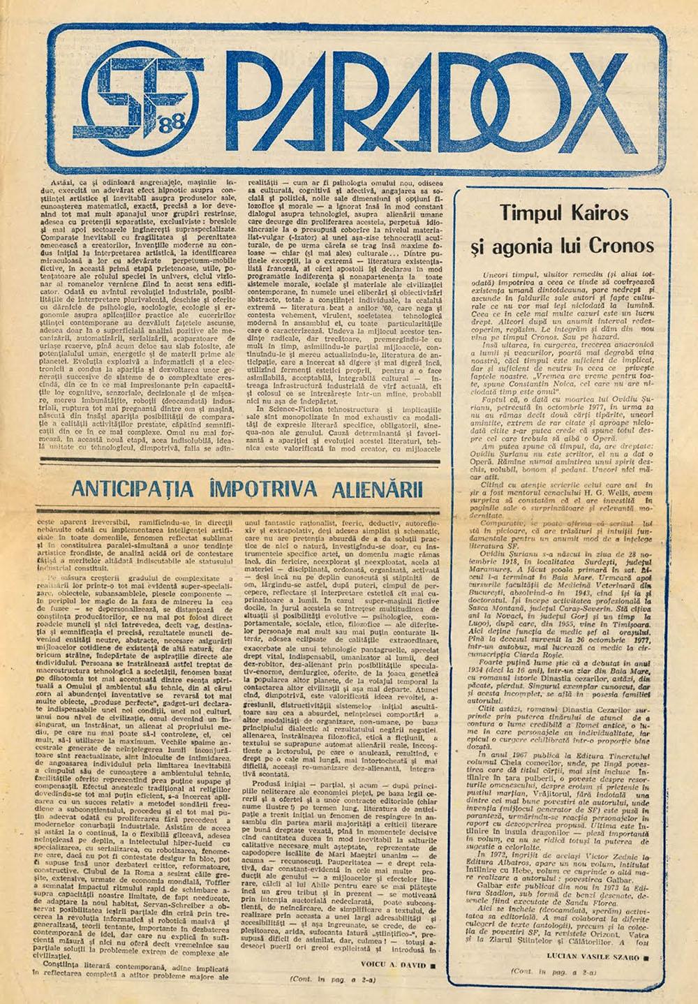 Paradox nr. 13/1988