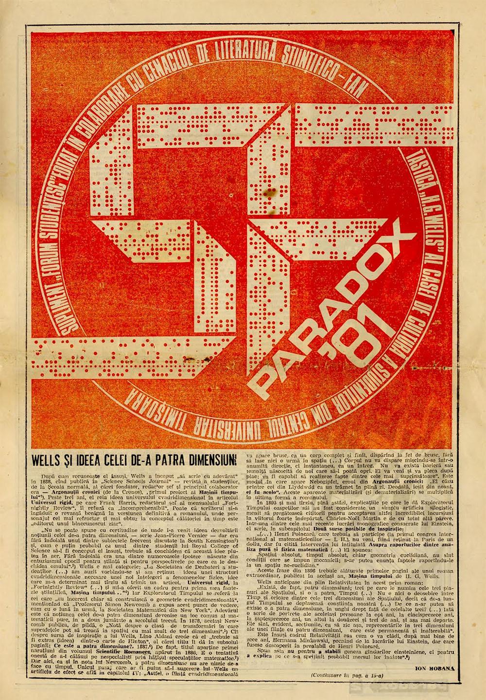 Paradox nr. 6/1981