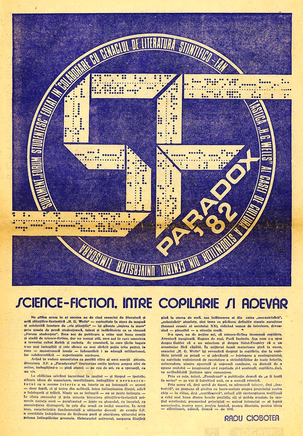Paradox nr. 8/1982