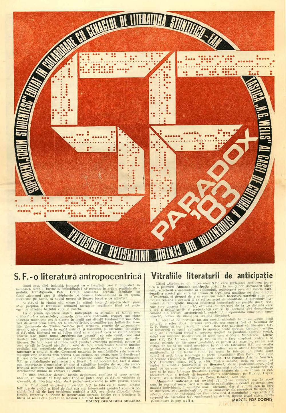 Paradox nr. 9/1983