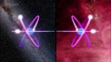 Legături cuantice în timp